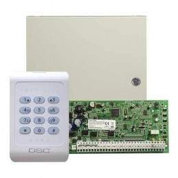 Centrala de alarma 4 zone pe placa PC 1404