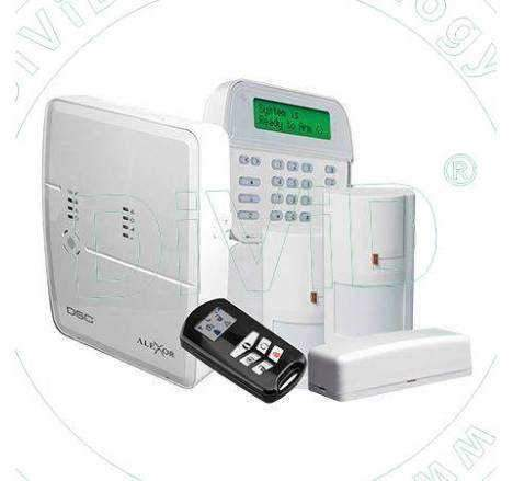 Alarma wireless bidirectional ALEXOR 495V