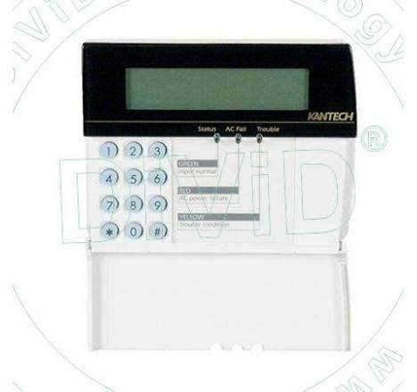 Tastatura LCD pentru centrale de acces control KT 300