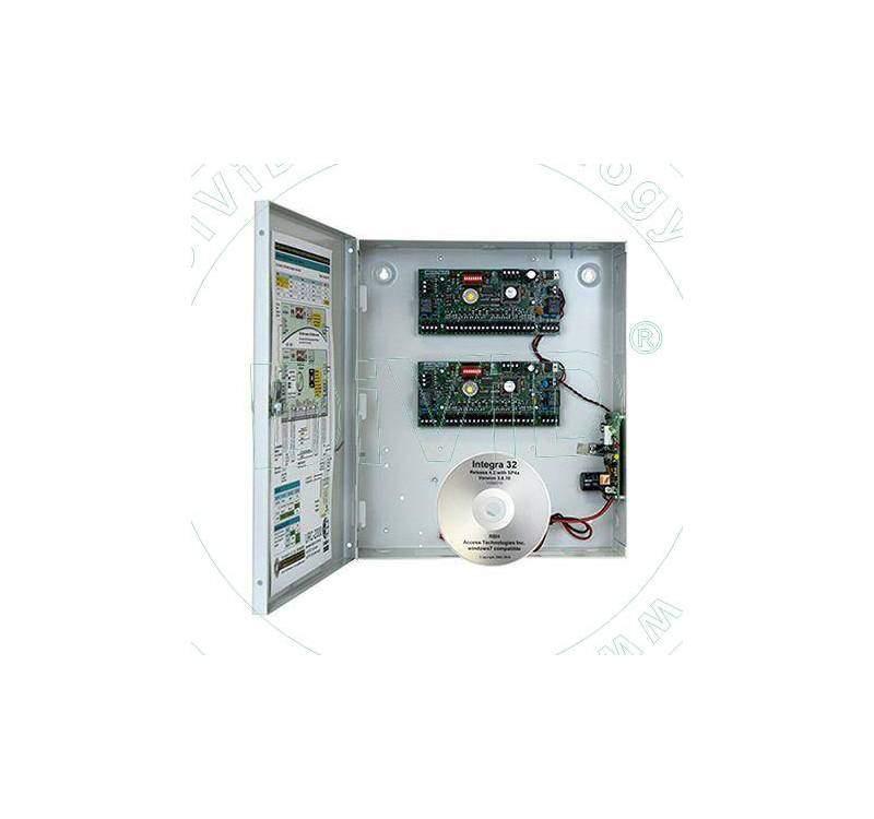 Controler pentru 4 uşi unidirectionale sau 4 bidirectional URC-2004