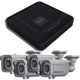 Kit 4 camere de supraveghere video pentru exterior