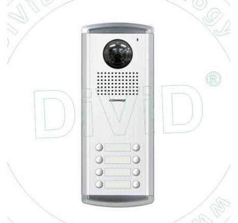 Post videocamera color de tip multifamilie DRC-8AC2