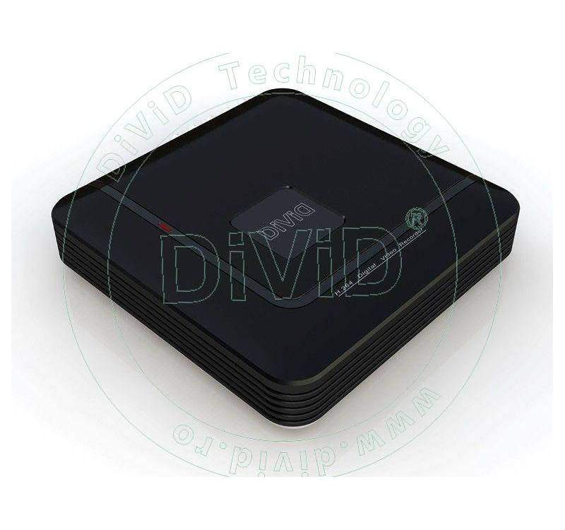 DVR H.264 4 canale video 1 audio
