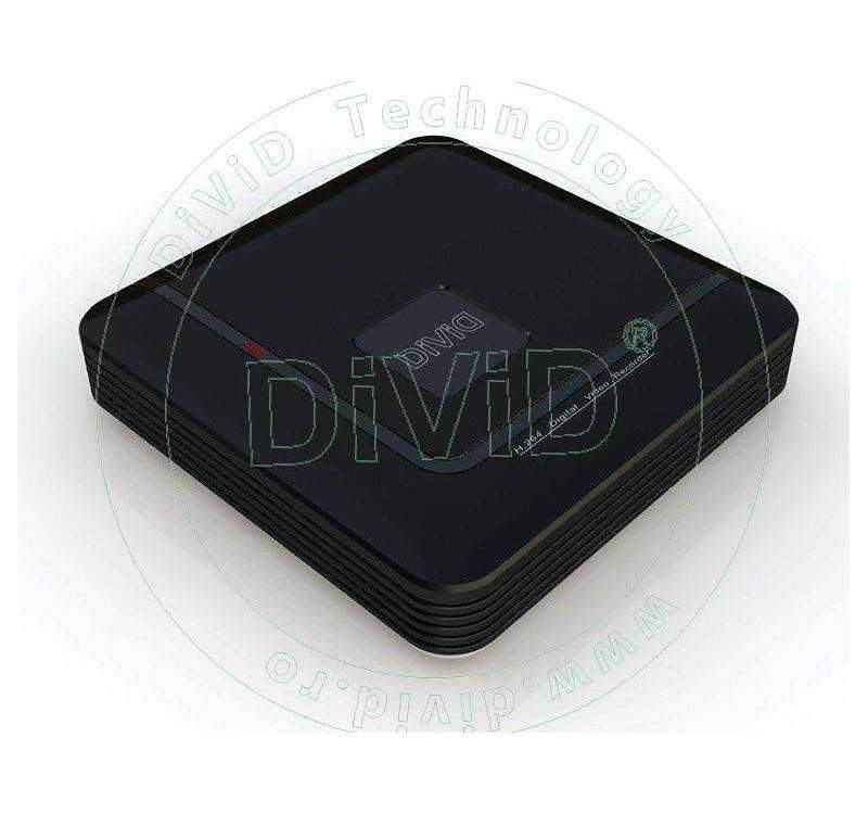 DVR H.264 8 canale video 1 audio HDMI