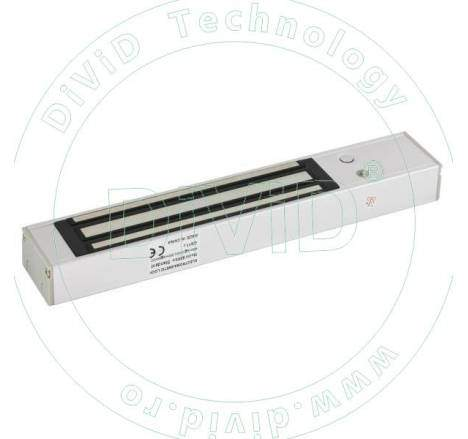 Electromagnet cu maner pentru usi cu deschidere in interior YM-280T(LED)H