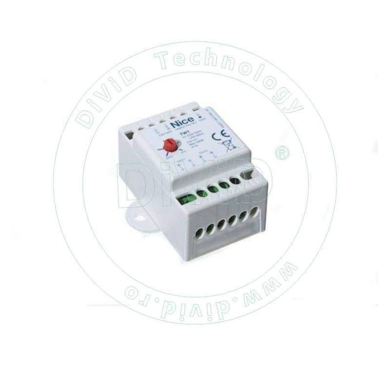 Termostat de reglare cu trimmer pentru PW1