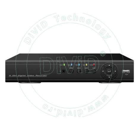 DVR 4 canale video 4 audio