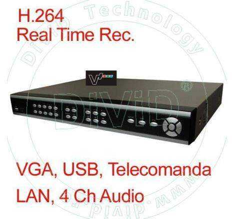 DVR 4 canale H264