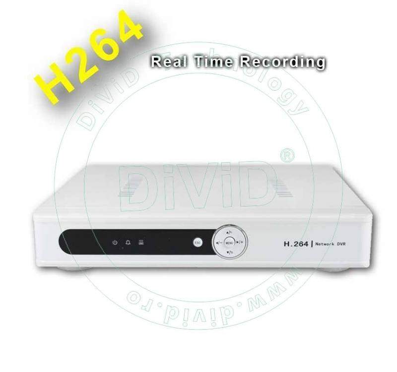 DVR 4 canale video 1 audio