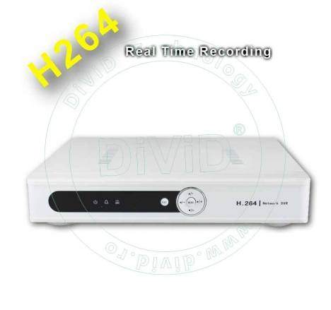 DVR 4 canale video 1 audio