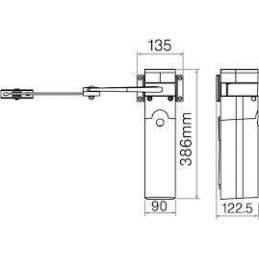 Porti batante automatizate cu brate articulate WALKYKIT 2024