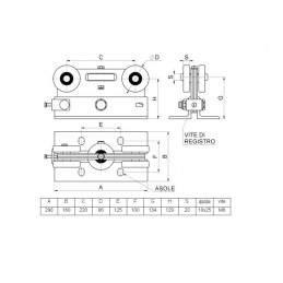 Kit GRANDE pentru poarta autoportanta cu deschideri mari