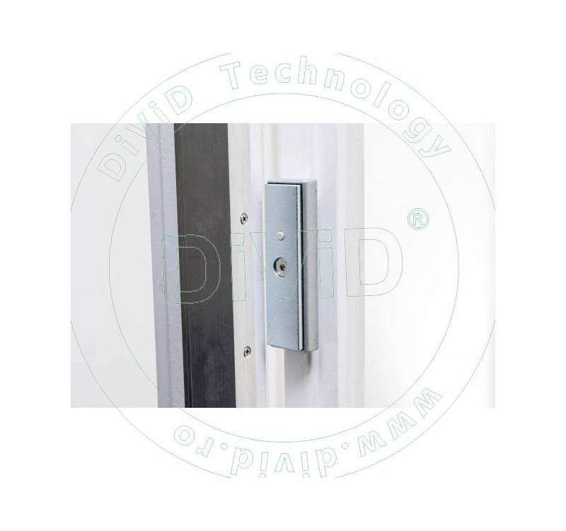 Electromagnet pentru usi din aluminiu cu deschidere la exterior YM-150D-2,3M