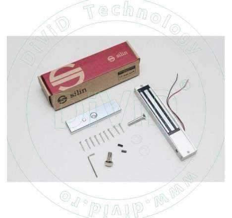 Electromagnet aplicat de 150 kg forta cu led si monitorizare SM-150LEDA