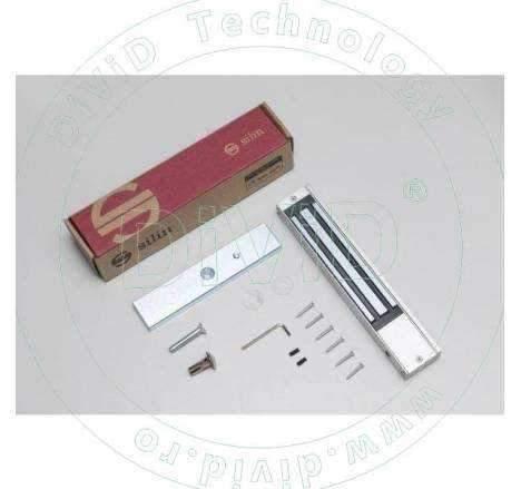 Electromagnet aplicat de 280 kg forta cu led si monitorizare SM-280LEDA
