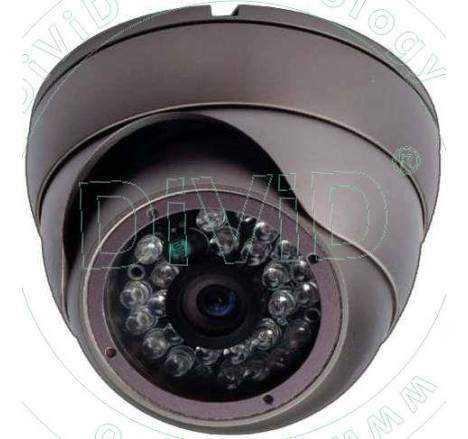 Camera supraveghere dome antivandal HDCVI 1 Megapixel