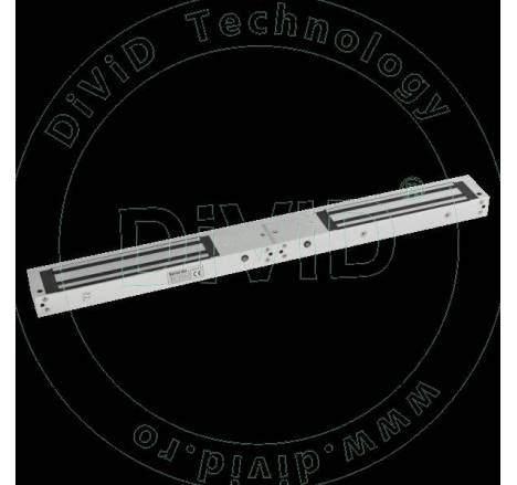 Electromagnet aplicat de 280kgf, cu temporizare si led de stare, pentru usa dubla YM-280TD(LED)