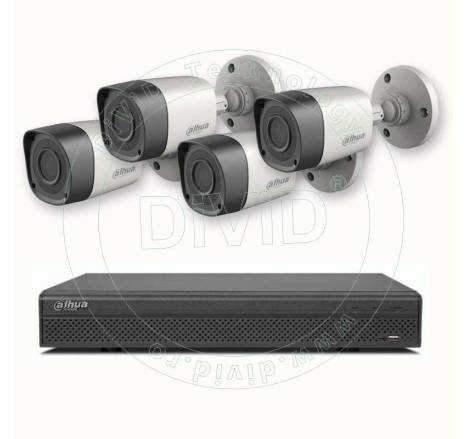 Sistem video exterior 4 camere 2 Megapixeli