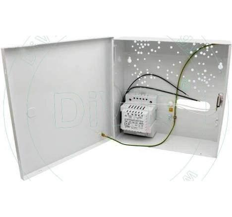 Cutie mica cu transformator pentru centrale alarma