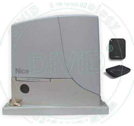 Kit automatizare poarta culisanta ROX600