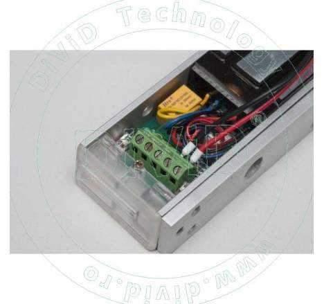Electromagnet aplicat cu led de stare YM-280LEDA-L