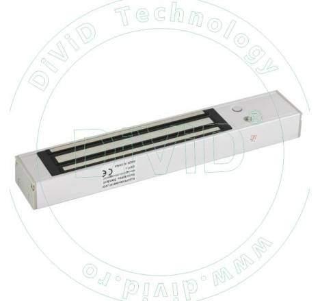 Set cu doi electromagneti aplicati, cu maner de 1000mm, pentru usi cu deschidere in interior YM-280T(LED)H-100