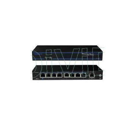 Switch 9 porturi 10/100Mbps PoE+