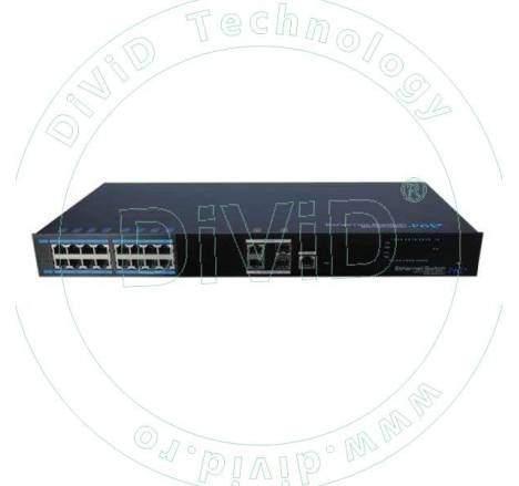 Switch 16 porturi POE+