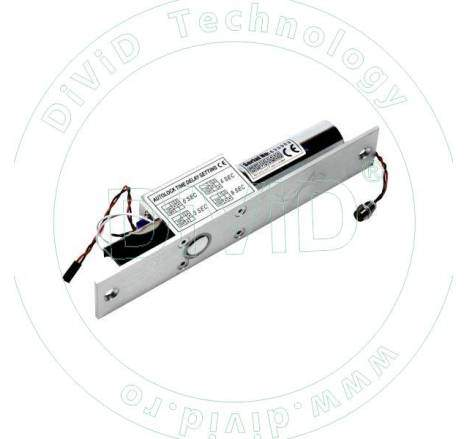 Bolt electric de inalta siguranta cu actiune magnetica, monitorizare, temporizare si LED YB-200(LED)