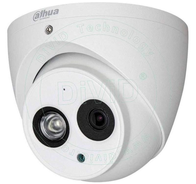 Camera supraveghere dome HDCVI 1 megapixeli cu microfon incorporat
