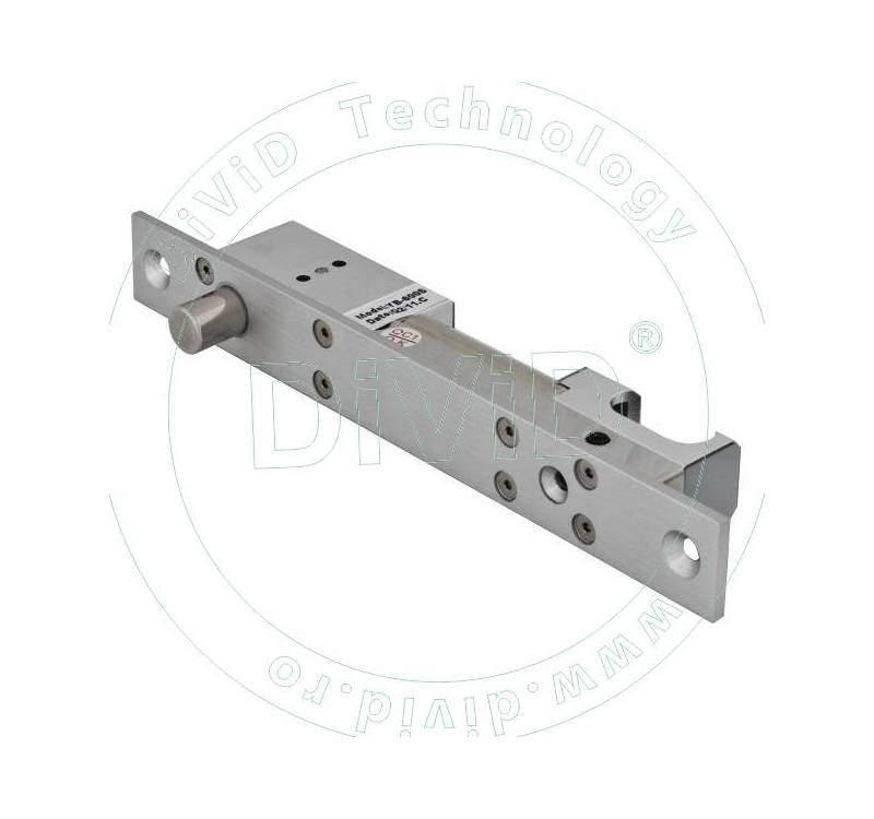 Mini bolt electric de inalta siguranta cu actiune magnetica si cilindru cu cheie YB-600S