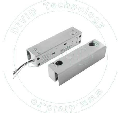 Mini bolt electric cu suport pentru usa de sticla YB-500U