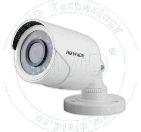 Camera supraveghere exterior TVI, AHD, CVI, CVBS 1 MP DS-2CE16C0T-IRPF