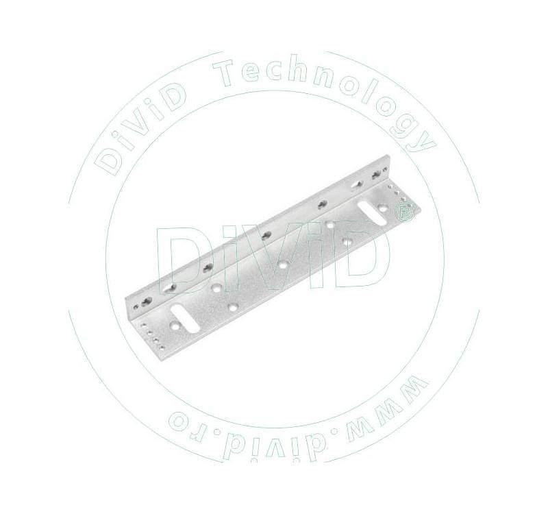 Suport in forma de L pentru montarea electromagnetilor de 280kgf la usi cu tocul ingust ABK-280L