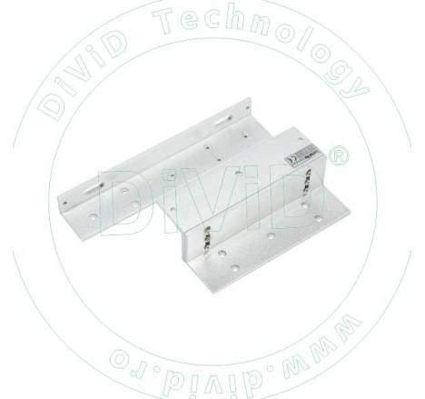 Suport in forma de Z si L pentru montarea electromagnetilor de 280kgf ABK-280ZL