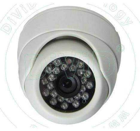 Camera supraveghere dome multistandard