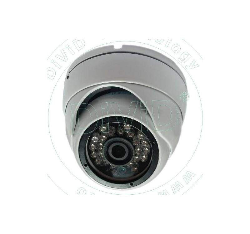 Camera multistandard dome exterior antivandal