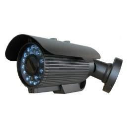 Camera bullet de exterior multistandard