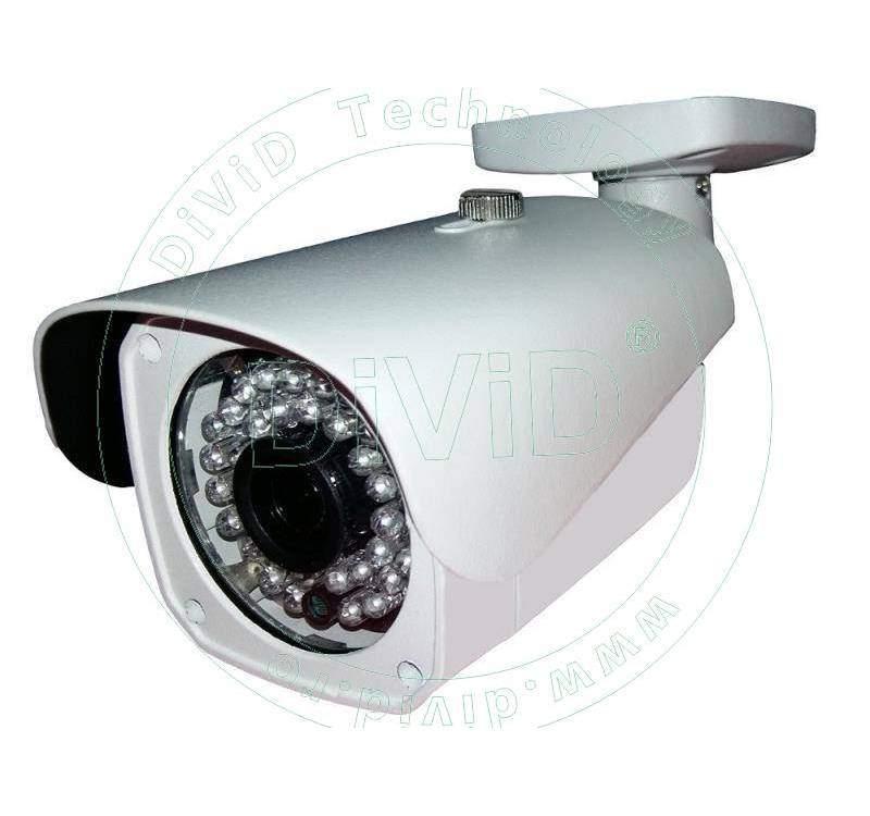 Camera bullet de exterior 1080P multistandard