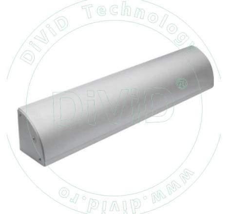 Suport pentru montarea electromagnetilor YM-180. Include suport pentru mascarea cablului ABK-180LC