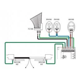 WG2S - schema instalare automatizare