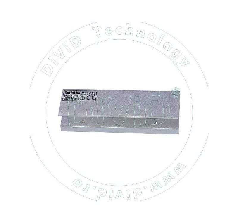 Suport in forma de U pentru montarea electromagnetilor de 280kgf la usi de sticla ABK-280UL