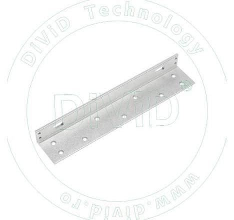 Suport in forma de L pentru montarea electromagnetilor YM-350(LED)