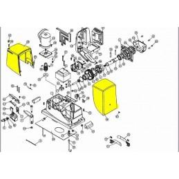 Set capace motoreductor Robus600/1000
