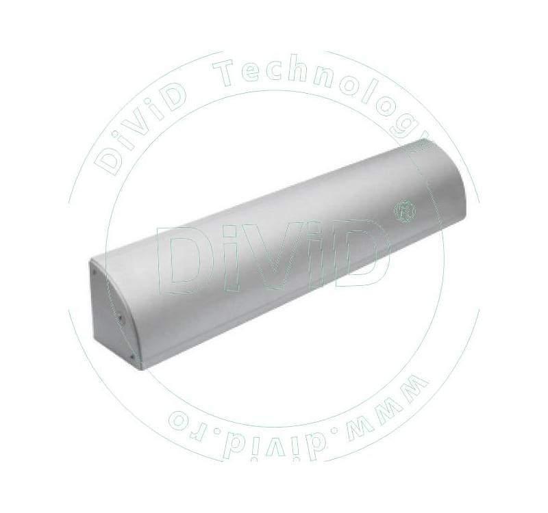 Suport pentru montarea electromagnetilor YM-280. Include suport pentru mascarea cablului ABK-280LC