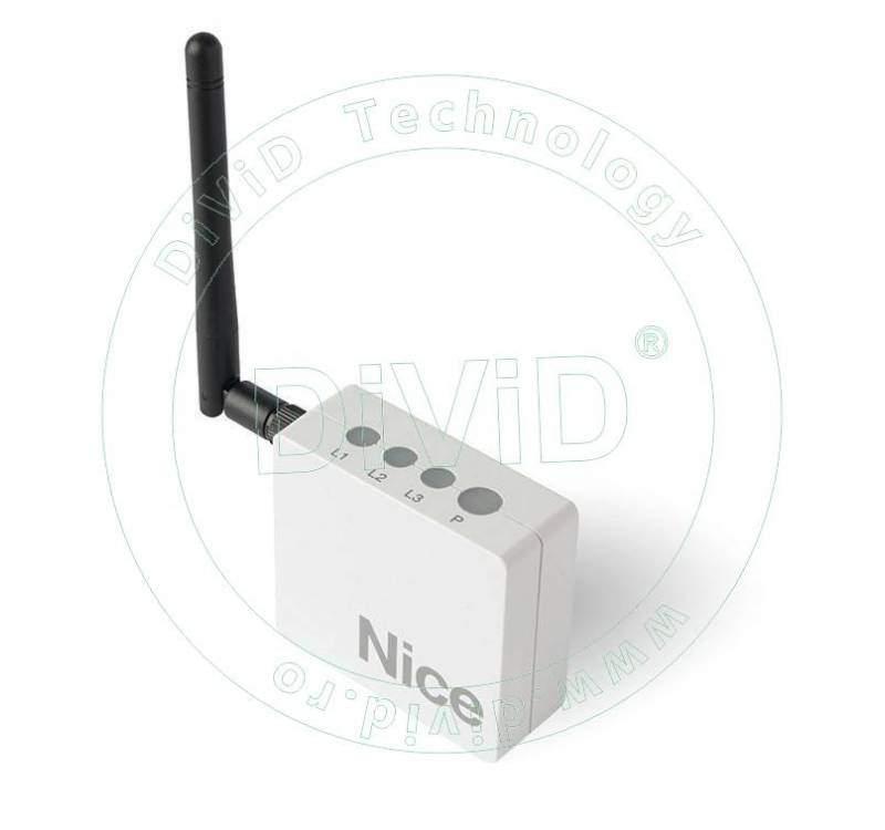 Modul de comanda WIFI pentru sisteme de automatizare Nice