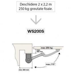 Automatizare porti WS200S - limite