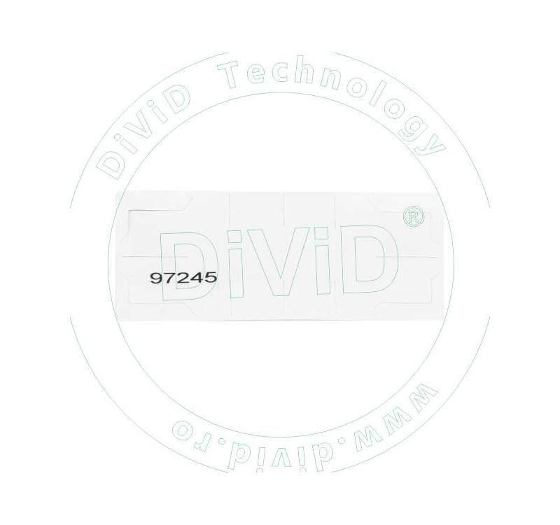 Eticheta UHF  lipire parbriz