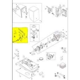 Deblocator manual motoreductor poarta culisanta Nice