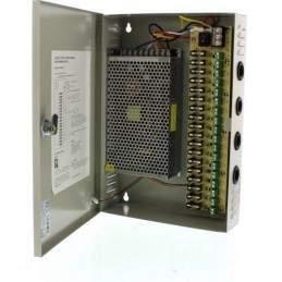Sursa alimentare cu 18 canale in cutie metalica 12V/20A